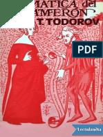 Gramatica del Decameron - Tzvetan Todorov