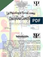 lapsicologasocialcomodisciplinacientfica-160530034411
