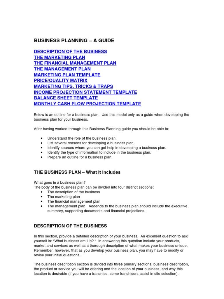 Businessplanningtemplate Expense Balance Sheet