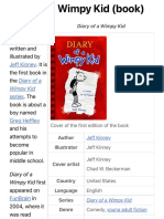 Diary of a Wimpy Kid (book) - Wikipedia