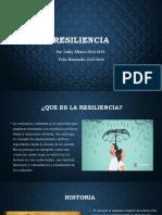 Resiliencia presentacion