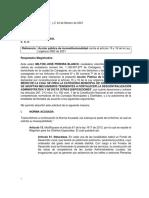 Demanda de Inconstitucionalidad Ley 2082 de 2021