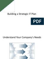 Building a Strategic IT Plan