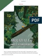 2020.11 [Piauí 170] SALLES, João M. Arrabalde, Parte I_ a Floresta Difícil