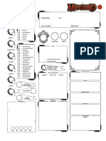 Midgard - Character Sheet