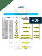 Cronograma de Gestão da Produção - 2021.1