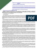D.S. Nº 022-2017-PCM - ROF PCM
