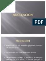 Nucleacion