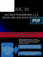 NIC 10 referencia