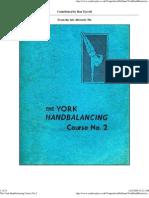 York Handbalancing Course 02