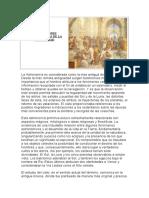 CONCEPCIONES COSMOLÓGICAS DE LA ANTIGÜEDAD