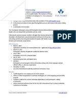 Victory Congressional Internship 2011