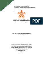 EVIDENCIA #2 - INFOGRAFÍA - ÍNDICES DE GESTIÓN DE SERVICIO - DÚO LOGÍSTICO