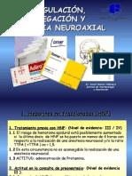Anticoagulación Antiagregación Anestesia