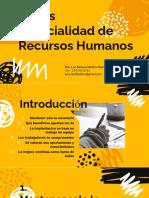 5 eses EspRH Dra Lucy Medina 1a. Sesión INTRODUCCIÓN