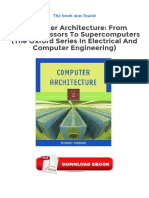 Computer Architecture From Microprocessors to Supercomputers the Oxford Series in Electrical and Computer Engineering PDF-1