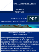 educational-administration PPT
