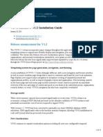 VIVO Release 1 V1.2 Installation Guide