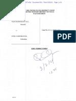 21-03-02 VLSI v. Intel Jury Verdict (Redacted)
