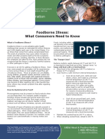 Foodborne Illness What Consumers Need to Know