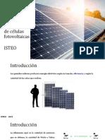 Rendimiento de Células Fotovoltaicas.