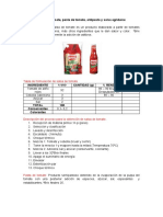 Doc 6. Salsa de tomate, pasta de toamte, antipasto y salsa agridulce