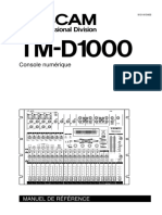 TM-D1000 Manuel Util