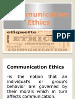 3Communication-Ethics