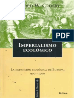 Crosby, Alfred W. - Imperialismo Ecológico-Editorial Crítica (1999)