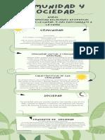 infografia COMUNIDAD Y CULTURA