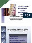 TRAUMA RAQUIMEDULAR AGUDO Y ANESTESIA[2]