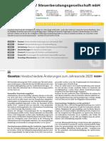 LHV Steuerberatung Steuerinformation Gewerbe Q1 2021