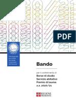 Bando Con Appendice BonusCovid Bando 2020 2021