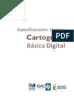 Documento Especificaciones Tecnicas Cartografia Basicas