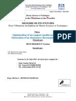Optimisation d'Un Rapport Qual - BENCHEKROUN Yassine_696
