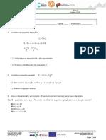 Ficha formativa Equações