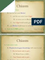 Chiasm Lecture