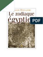 Zodiaque Egyptien
