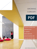 Growing Curiosity, Lucrare de disertatie arhitectura