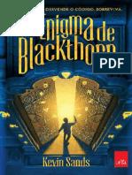 Livro o Enigma de Blackthorn