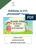 Saptamana Scoala Altfel Calendar