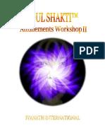 Soul Shakti nível 2 mestrado