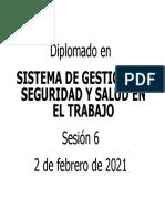 0 SESION 6 DIPL SGSST def.ppt  -  Modo de compatibilidad