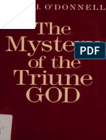 The mystery of the triune God - O'Donnell, John J.