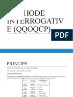 4- Outils Qualite - Methode Interrogative Qqoqcp