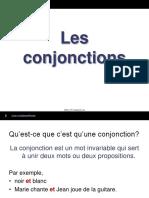 Les Conjonctions[1]