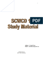 SCWCD 1.4 Material