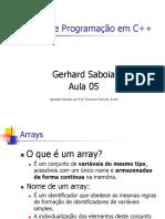 CursoC++Aula5 Gerhard Saboia