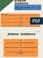 ATRESIA DE ESóFAGO 17-01-2011