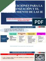 Dia 3.- GESTIÓN INSTITUCIONAL.2021 INSTRUMENTOS DE GESTIÓN PEI, PAT, PCI, RI